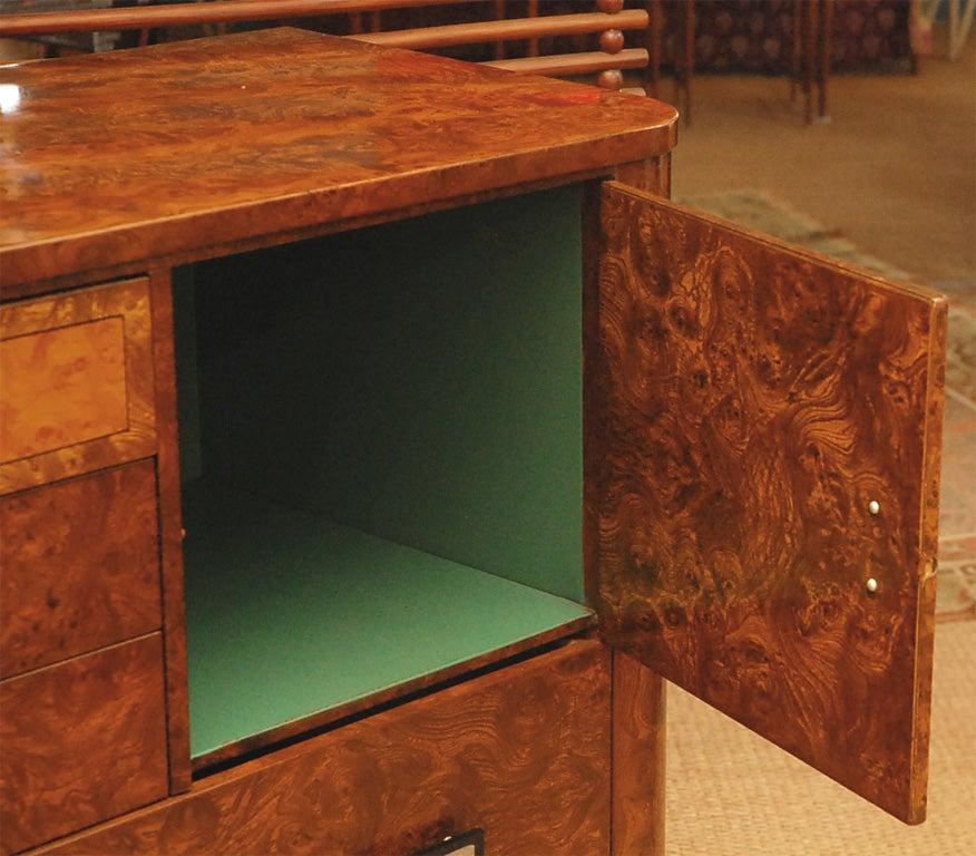 Norman Bel Geddes Metal Dresser for Simons. 6