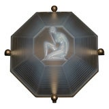 Art Deco Light Fixture by Dieupart