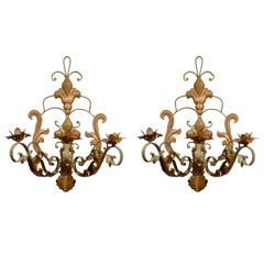 Pair of French Wall Sconces