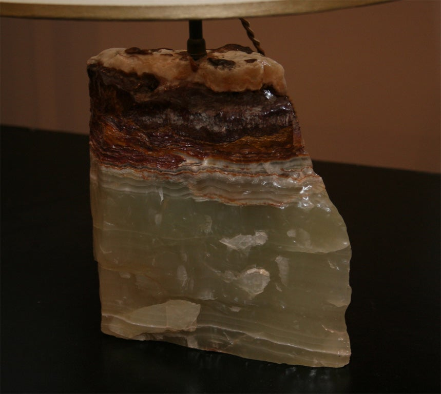 Onyx Block Lamp 3