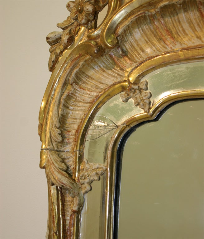 Swedish Rococo mirror