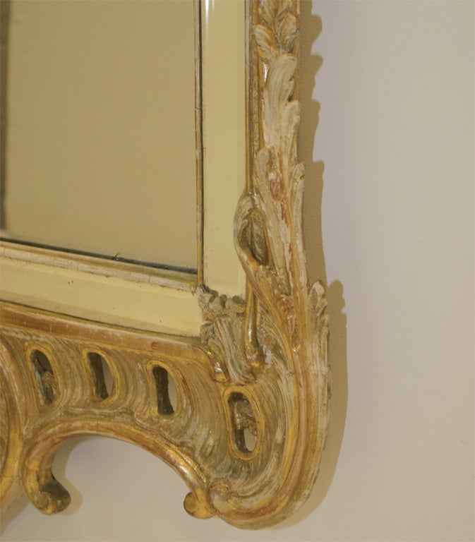 18th Century and Earlier Rococo mirror