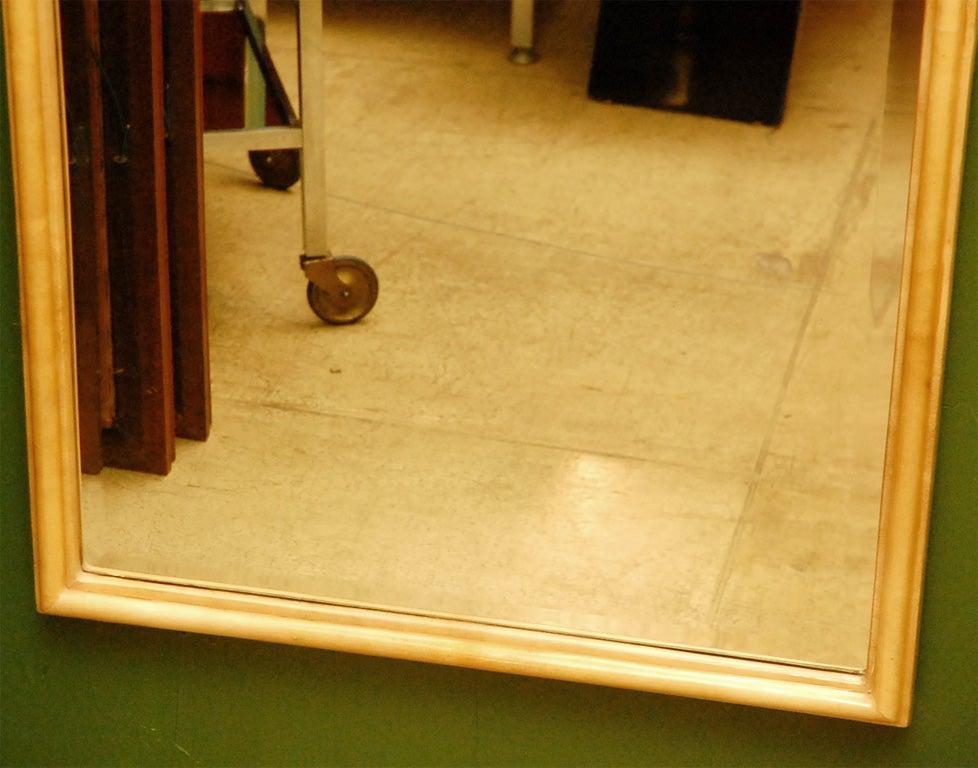 American Parchment Freeform Mirror For Sale