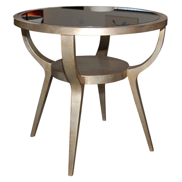Beautiful side table by james mont at 1stdibs for Beautiful end tables