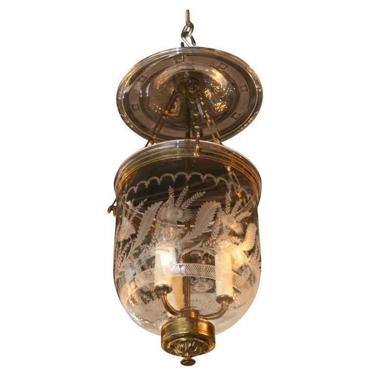 1940s Lantern Chandelier At 1stdibs