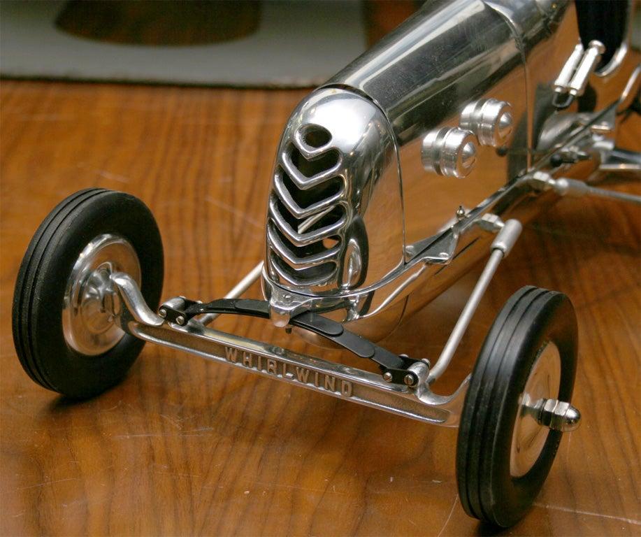 Car Made In Aluminum : Custom built polished aluminum teather car for sale at stdibs