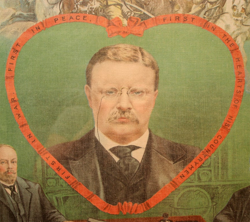 Political Banner:  Theodore Roosevelt For Sale 2