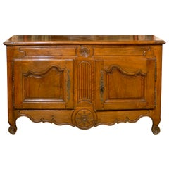 Transitional Louis XV/XVI Period Walnut Buffet , Nimes c. 1780.