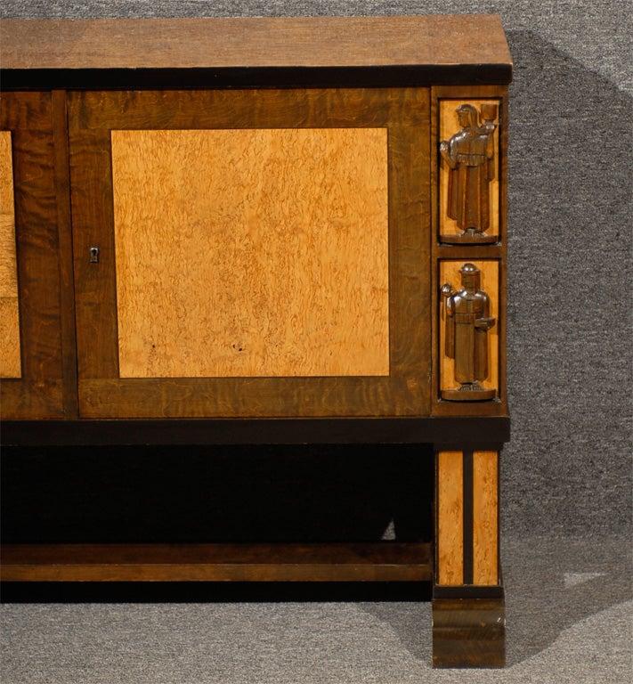 Art Deco Sideboard Attributed to Eliel Saarinen 9