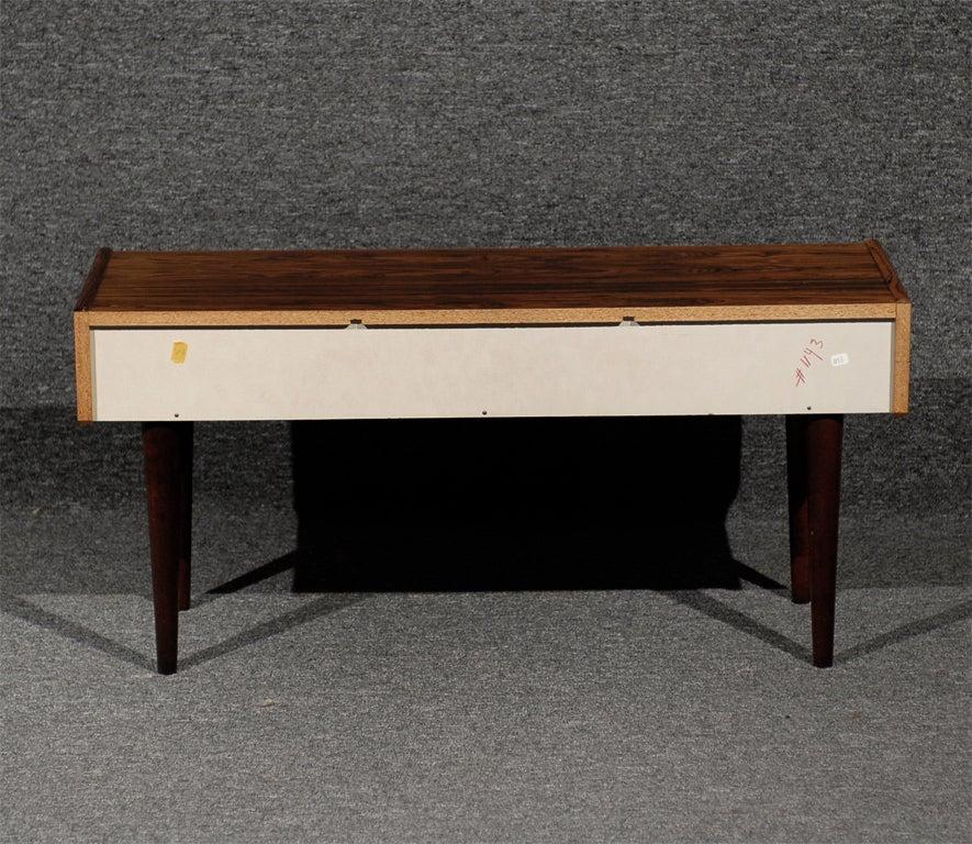 Mid Century Modern Console Table: Swedish Mid-Century Modern Jacaranda Console Table At 1stdibs