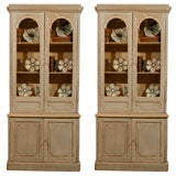 Pair of French Painted Bookcases, circa 1870