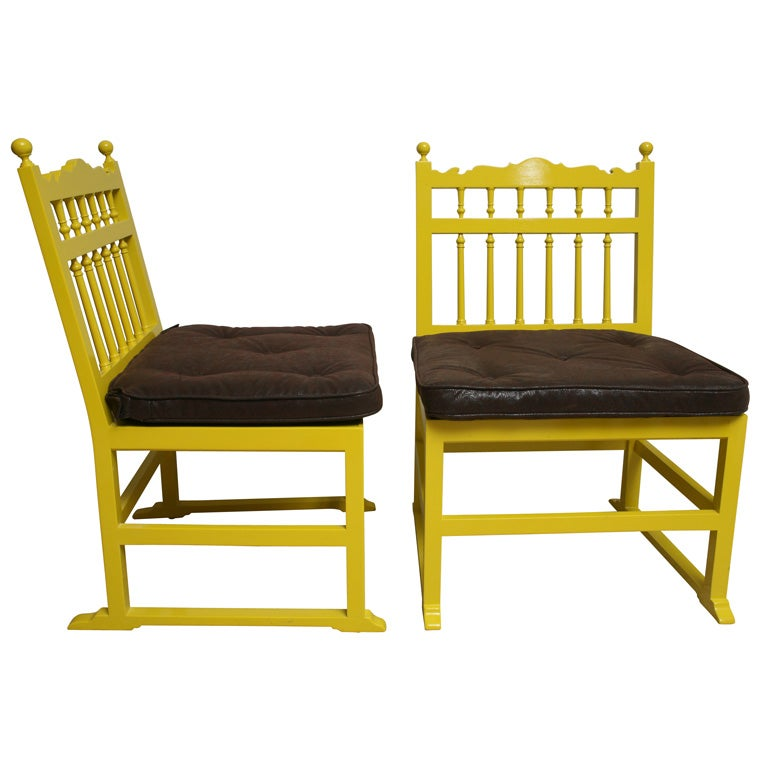 60s Mustard Lacquered Chairs at 1stdibs : xIMG9712 from www.1stdibs.com size 768 x 768 jpeg 49kB