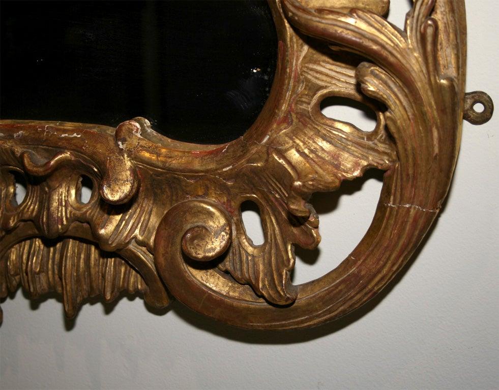 George II Giltwood Mirror, circa 1750 For Sale 1