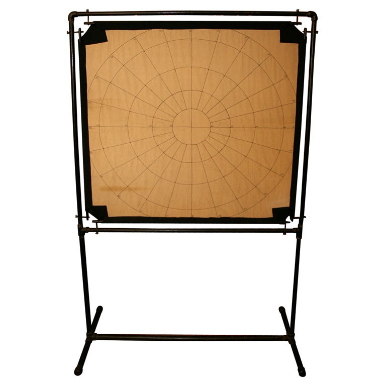 Embroidered Optical Tangent Screen At 1stdibs