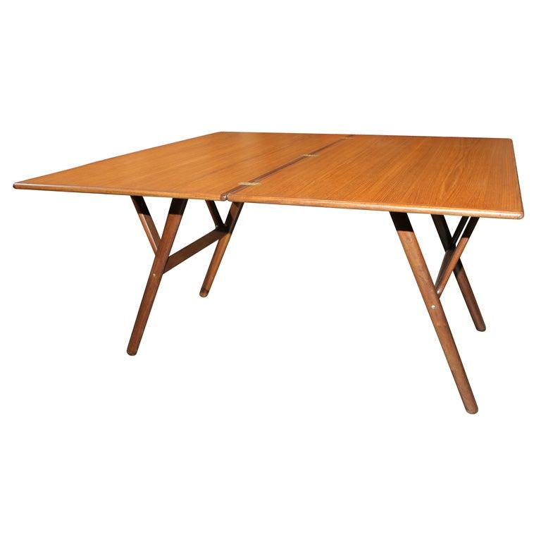 Teak Elevator Dining Table Coffee Table At 1stdibs