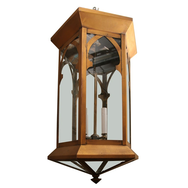 One Of A Pair Of Spectacular French Hall Lanterns At 1stdibs