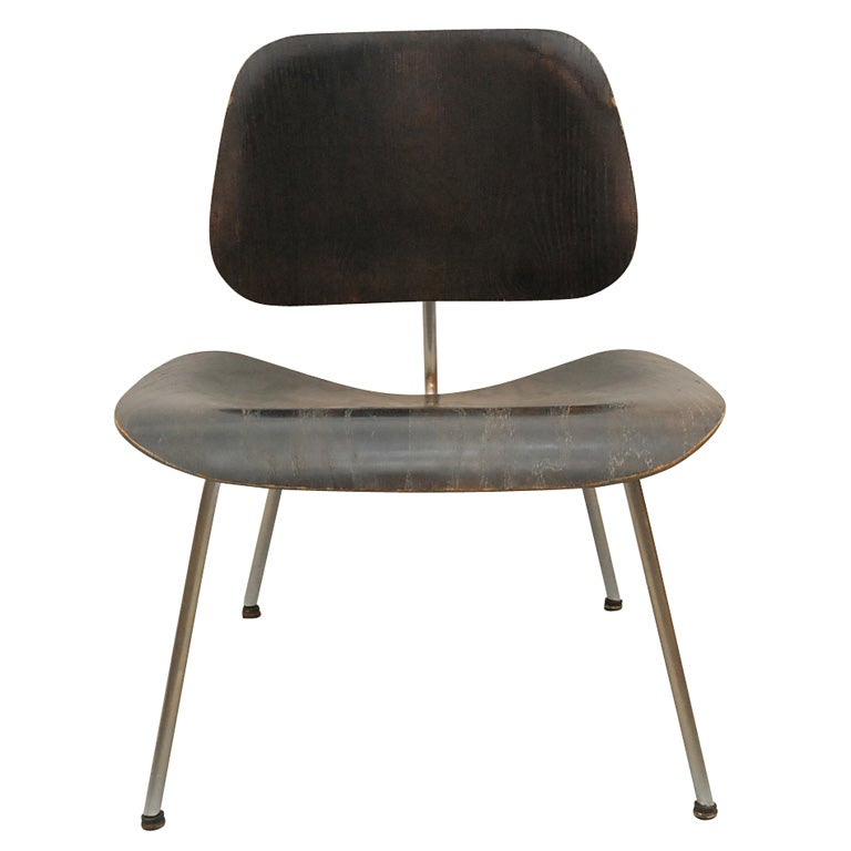black aniline dye evans label eames lcm in ash at 1stdibs. Black Bedroom Furniture Sets. Home Design Ideas