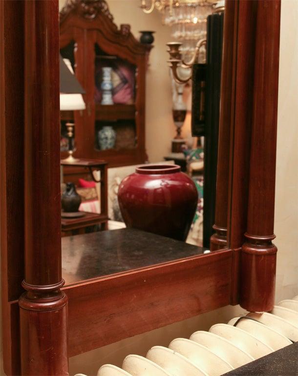 German Biedermeier Classical Pier Mirror For Sale 2