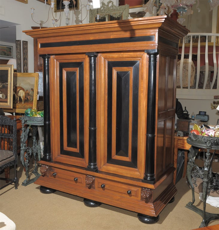 Baroque cabinet at 1stdibs for Baroque 2 door accent cabinet