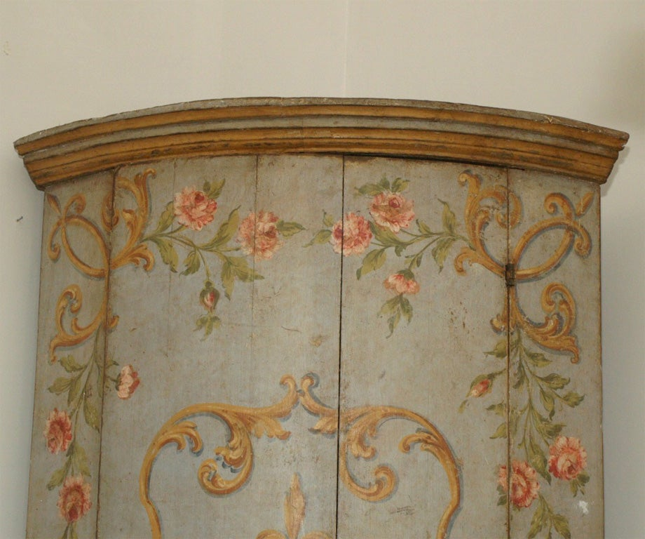 French Corner Cabinet For Sale