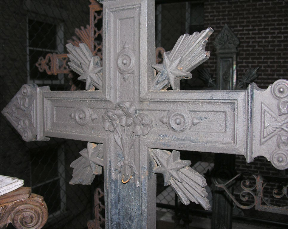 Cast Iron Cross For Sale 5