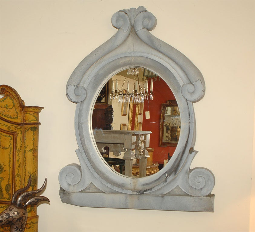 Large zinc window mirror for sale at 1stdibs for Window mirrors for sale