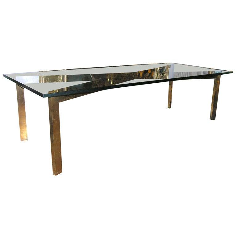 A Ludwig Mies Van Der Rohe Custom Barcelona Coffee Table At 1stdibs