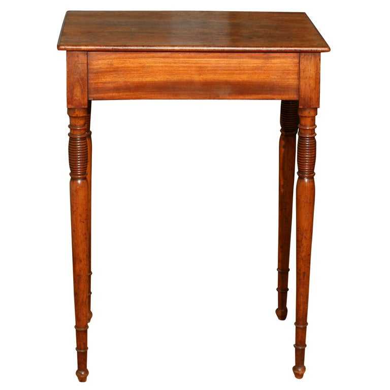Tall side table at 1stdibs for Tall white end table