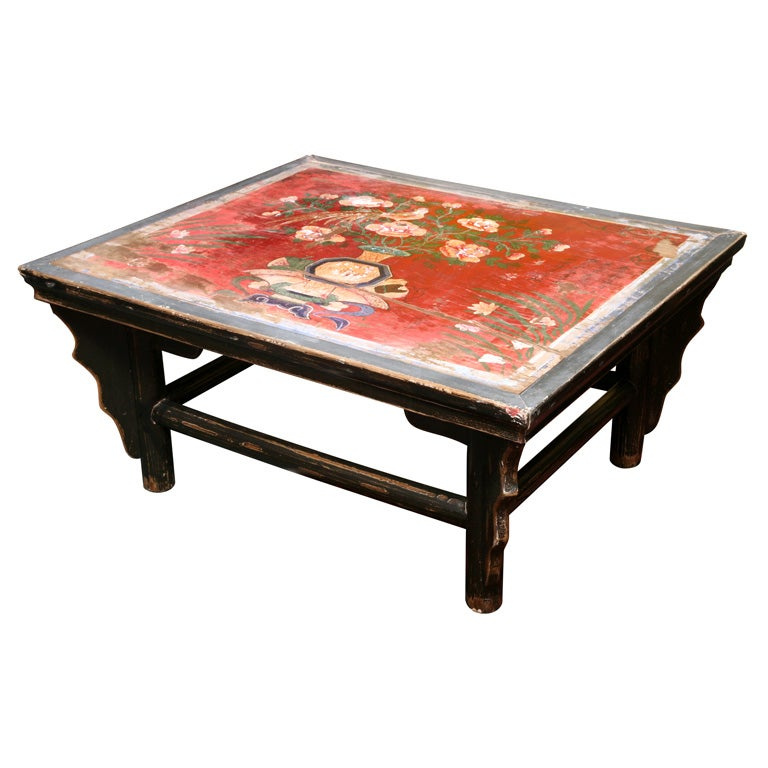 50 Off Sale Romantic Antique Chinese Country Side Table At 1stdibs