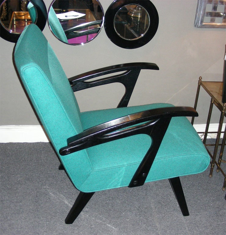 Two 1960s Armchairs by Etienne Henri Martin In Excellent Condition For Sale In Paris, FR