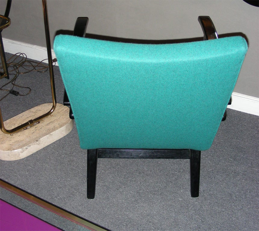 Mid-20th Century Two 1960s Armchairs by Etienne Henri Martin For Sale