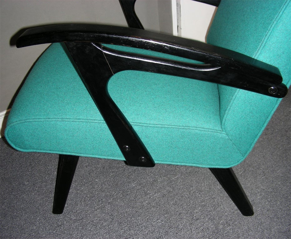 Two 1960s Armchairs by Etienne Henri Martin For Sale 1