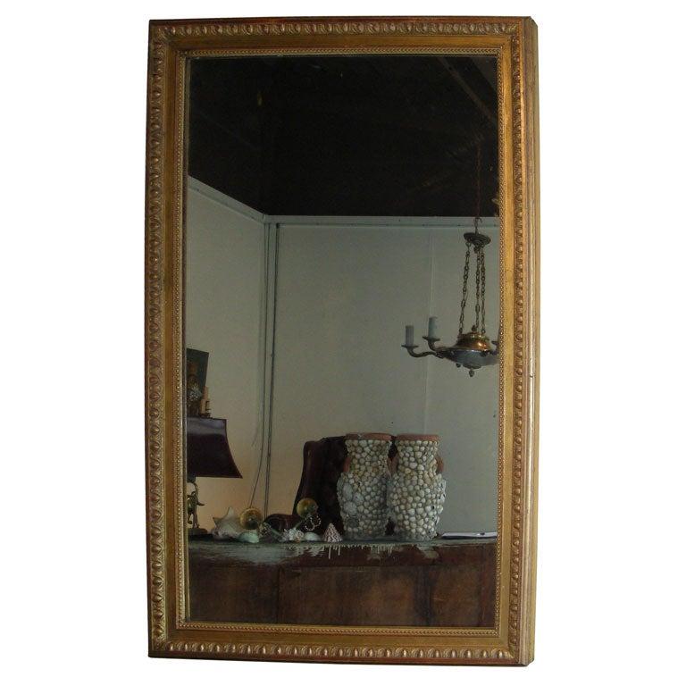 Stucco On Frame : Large s mirror with gilt wood and stucco frame at stdibs