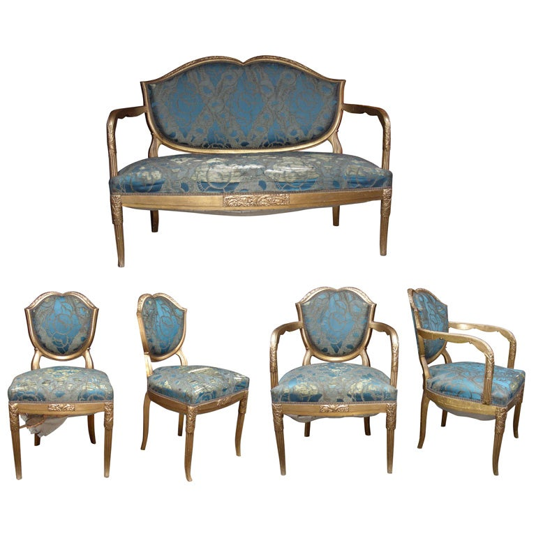 1920-1925 Living-Room Suite by Maurice Dufrêne at 1stdibs  1920s