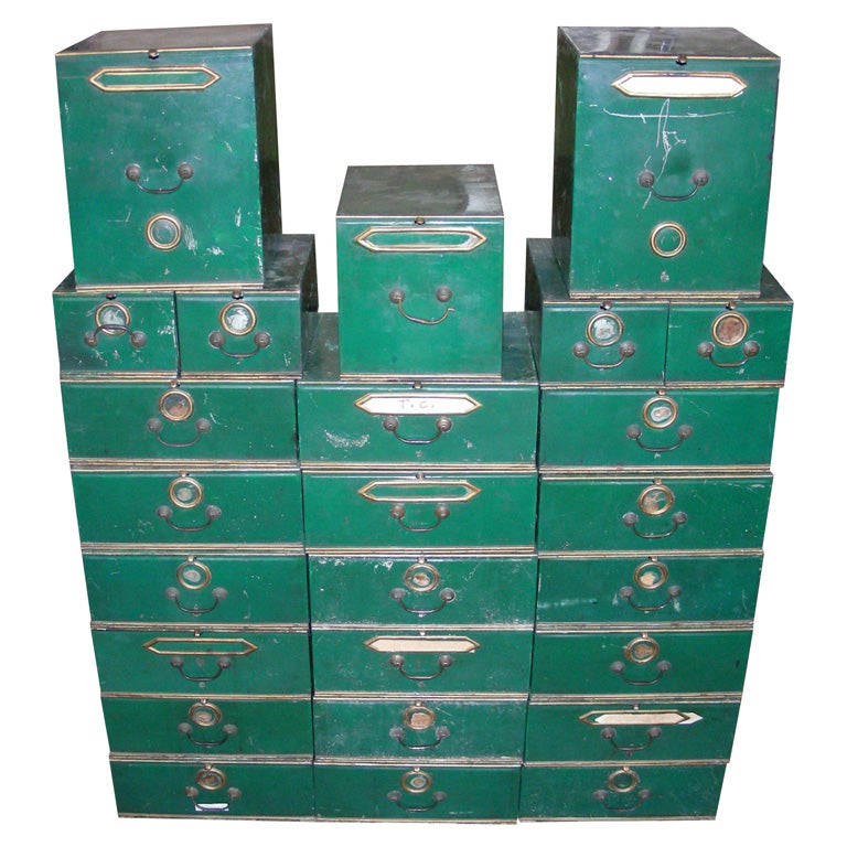 25 End Of 19th Century T 244 Le Boxes By Labb 233 Fr 232 Res At 1stdibs