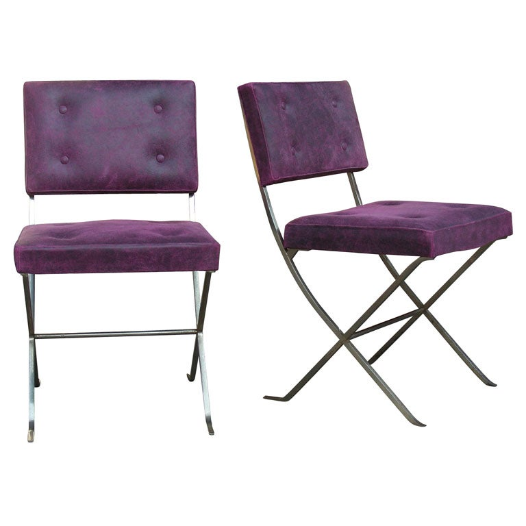 Maison Charles - Two 1965 Chairs by Maison Charles
