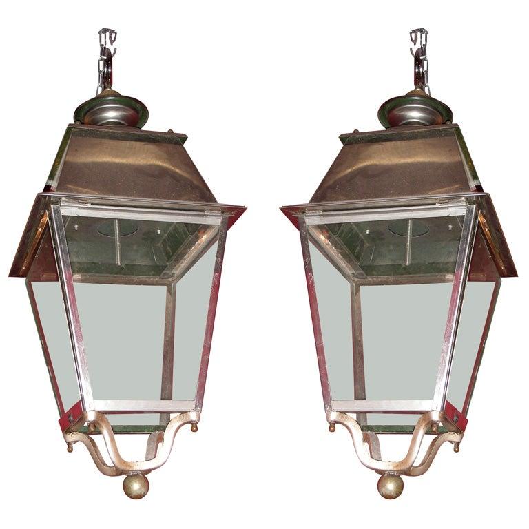 Two 1980s Lanterns At 1stdibs