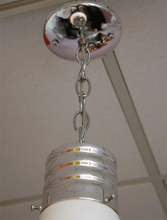 Canadian Lighting Pendant Lightbulb Vintage Restored Rewired For Sale