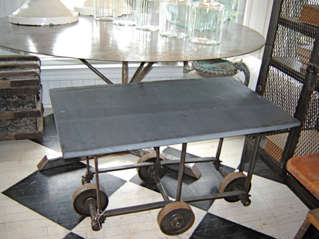 Mining Cart With Soapstone Top At 1stdibs