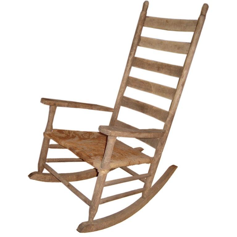 Five Plantation Rocking Chairs At 1stdibs