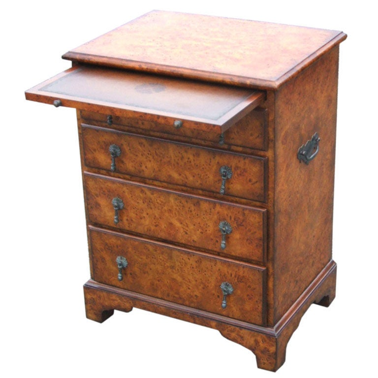 Small Chest Of Drawers With Pullout Shelf At 1stdibs