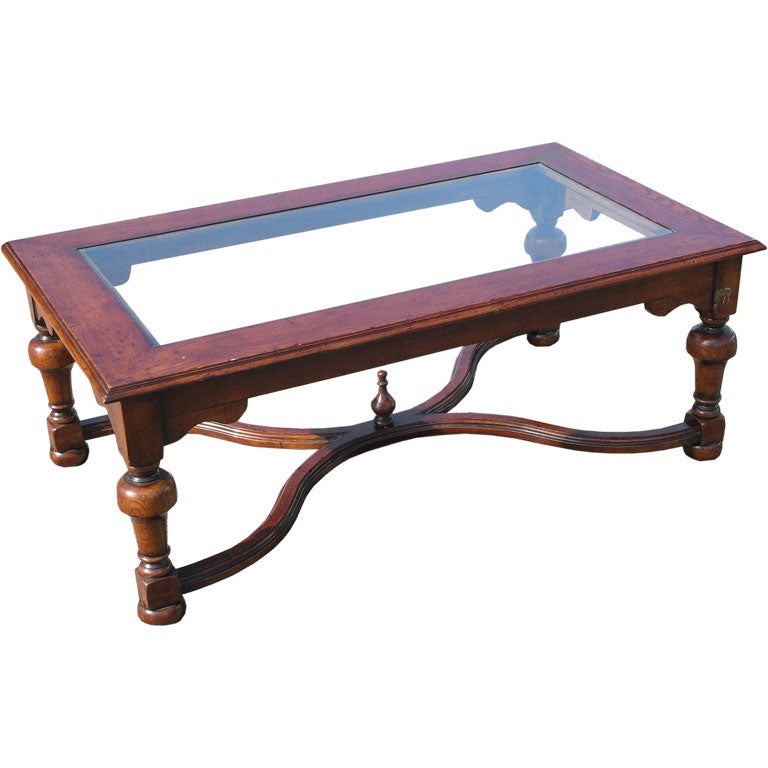 Glass Top Coffee Table For Sale At 1stdibs
