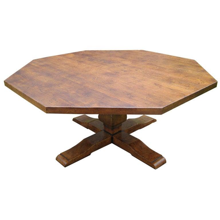 Octagonal dining table at 1stdibs : itemsjune2008034 from www.1stdibs.com size 768 x 768 jpeg 44kB