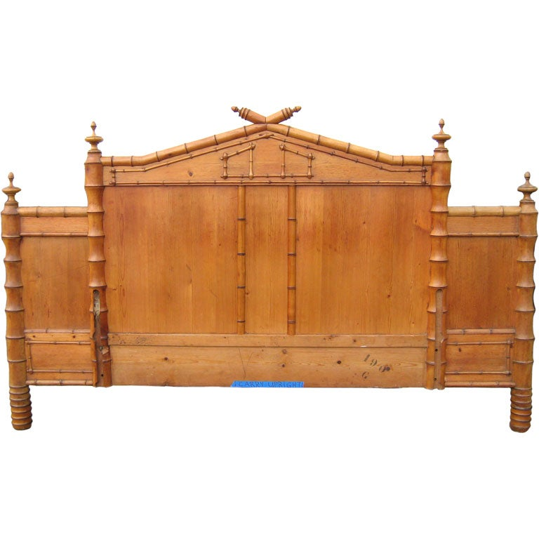 Antique Faux Bamboo Headboard At 1stdibs