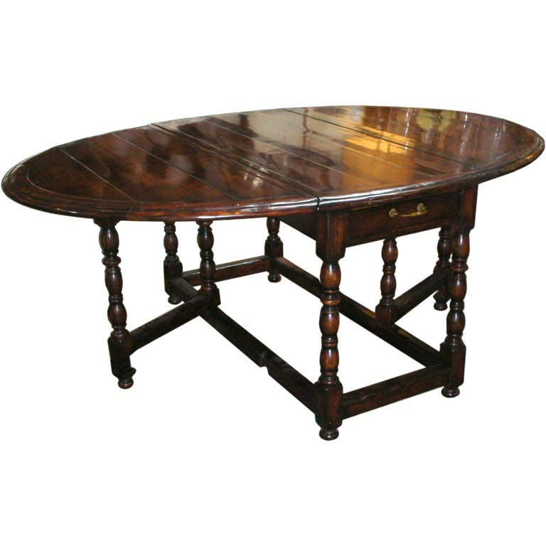 Gateleg Dining Table At 1stdibs