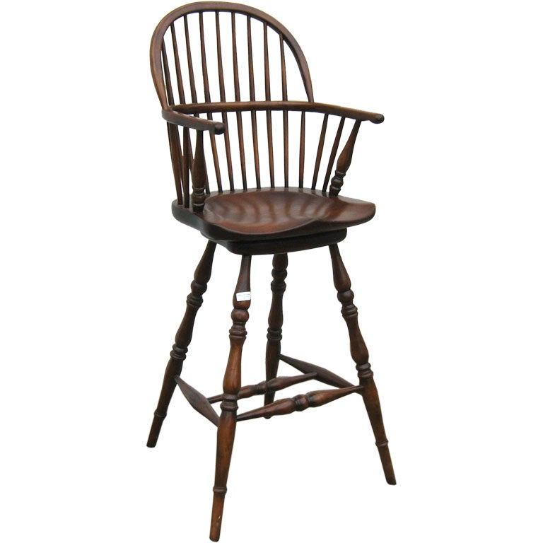 Swivel Arm Barstool