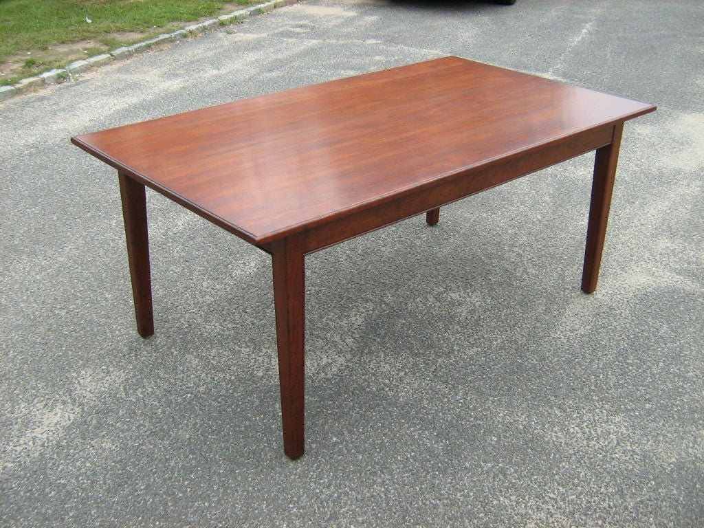 cherry dining table at 1stdibs. Black Bedroom Furniture Sets. Home Design Ideas