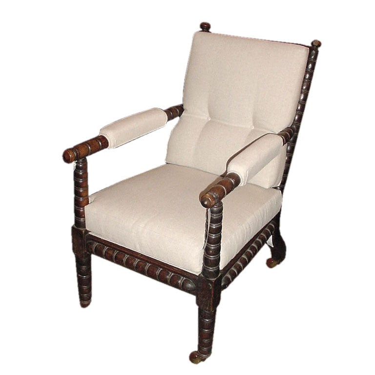 Antique Rosewood Bobbin Chair at 1stdibs