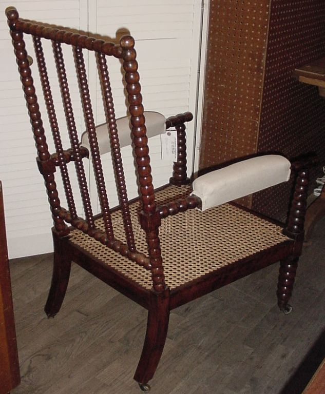 this antique beech wood bobbin chair is no longer available