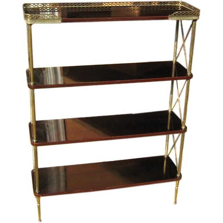 antique etagere at 1stdibs. Black Bedroom Furniture Sets. Home Design Ideas